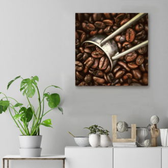 tablou canvas Coffee Beans FCO 002 mockup