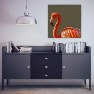tablou canvas Flamingo NBR-003 mockup