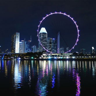 tablou canvas Singapore Flyer UNL-003