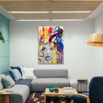 tablou canvas abstract AGR 005 mockup