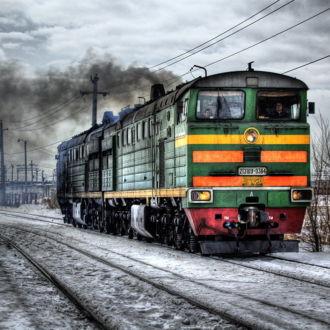 tablou canvas Locomotive TRL-002