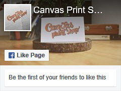 Pagina Facebook Canvas Print Shop