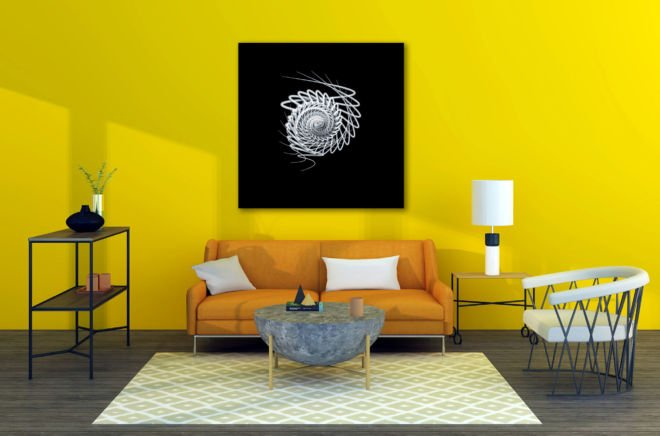 tablou canvas simetrie abstracta ABW 011 1