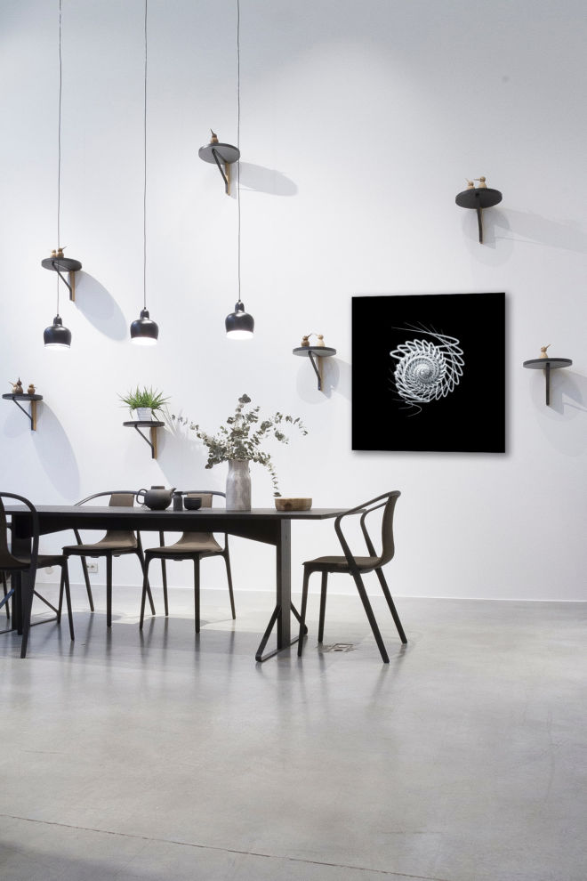tablou canvas simetrie abstracta ABW-011 mockup 2