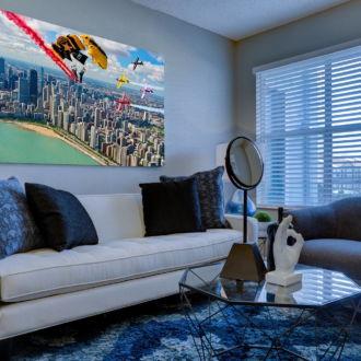 tablou canvas Air Show TBA 005 mockup 1