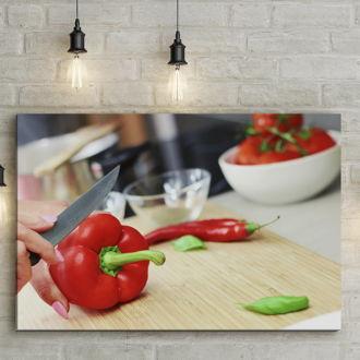 tablou canvas Bell Pepper FVE 002 mockup 1