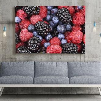 tablou canvas Berries FFR 005 mockup 1