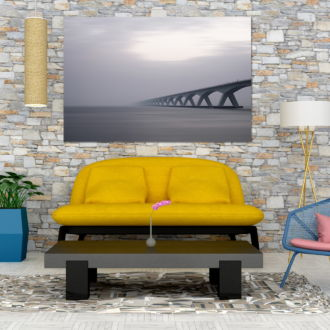 tablou canvas Bridge from nowhere UAR 020 mockup 2 1