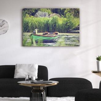 tablou canvas Fishing Boat TBW 004 mockup 1