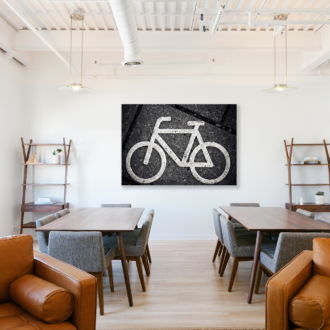 tablou canvas Flat bycicle RSG 010 mockup 1