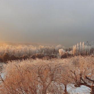tablou canvas Frozen sunrise NLS 010 1