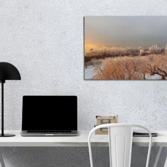 tablou canvas Frozen sunrise NLS 010 mockup 1