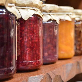 tablou canvas Glass Jam Jars FSW 002 1