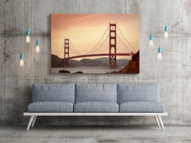 tablou canvas Golden Gate Bridge UAR 004 mockup 1