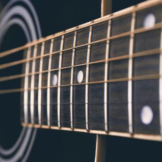 tablou canvas Guitar strings LMU 012 1