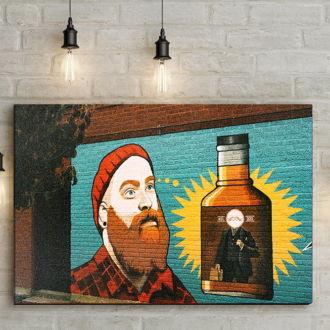 tablou canvas Hipster Art AGR 001 mockup 1