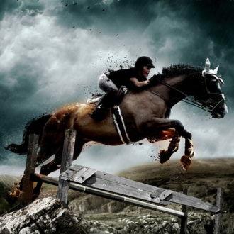 tablou canvas Horse Riding LPS 005 1