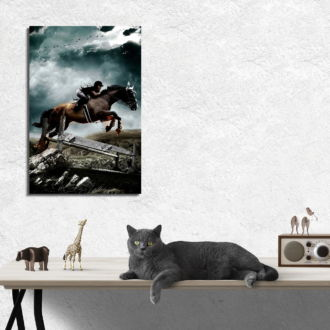 tablou canvas Horse Riding LPS 005 mockup 1