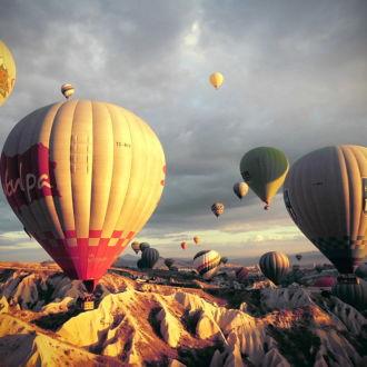 tablou canvas Hot Air Balloons lll TBA 008 1