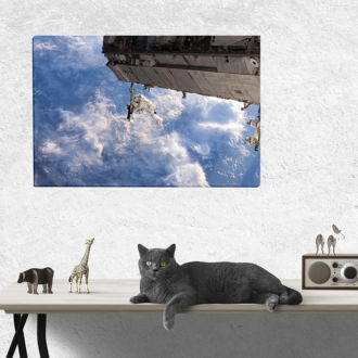 tablou canvas International Space Station TSP 005 mockup 1