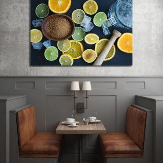 tablou canvas Lemonade FDR 003 mockup 1