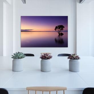 tablou canvas Lonely tree NLS 013 mockup 1