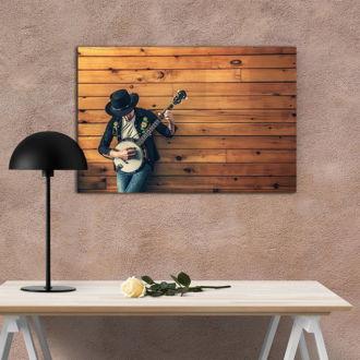 tablou canvas Mandolin Banjo LMU 005 mockup 1