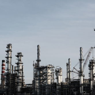 tablou canvas Oil refinery UND 007 1