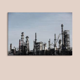 tablou canvas Oil refinery UND 007 mockup 1