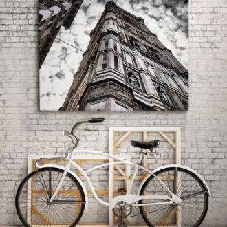tablou canvas Old Building Corner UAR 005 mockup 1
