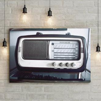 tablou canvas Old vintage radio RME 002 mockup 1