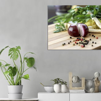 tablou canvas Onion FVE 004 mockup 1