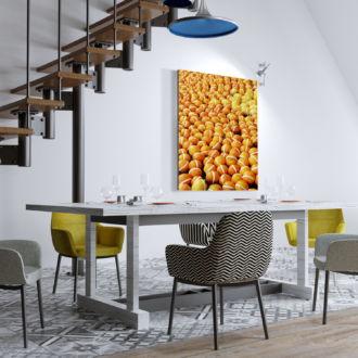 tablou canvas Orange ACO 008 mockup 1