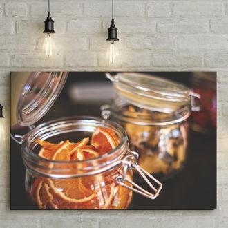 tablou canvas Orange Jar FFR 008 mockup 1