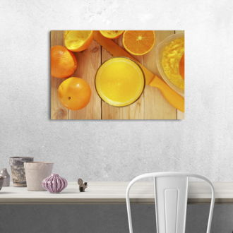tablou canvas Orange Juice FDR 004 mockup 1