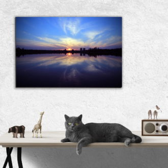 tablou canvas Perfect sunset NLS 003 mockup 1