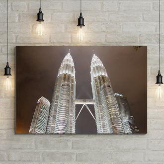 tablou canvas Petronas Towers UAR 003 mockup 1