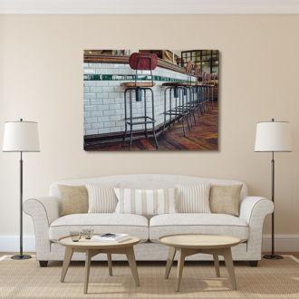tablou canvas Pub Chairs RIN 007 mockup 1