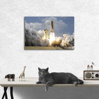 tablou canvas Rocket Launch TSP 004 mockup 1