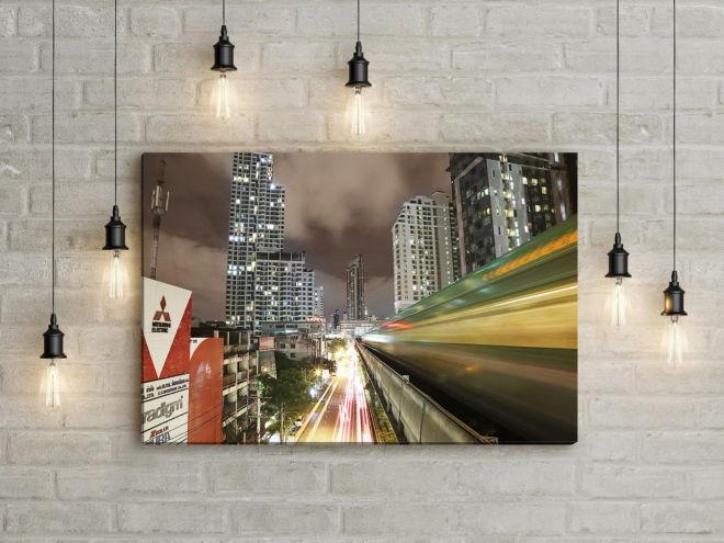 tablou canvas Rush hour UNL 002 mockup 1