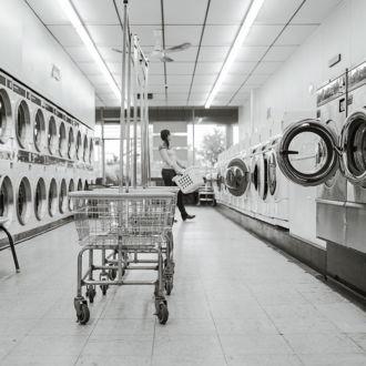 tablou canvas Self Service Laundry ll RIN 003 1