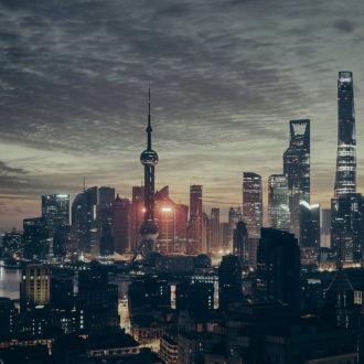 tablou canvas Shanghai skyline UNL 012 1