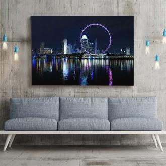 tablou canvas Singapore Flyer UNL 003 mockup 1