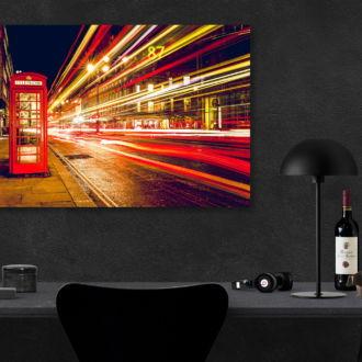 tablou canvas Speeding lights UNL 014 mockup 2 1