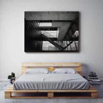 tablou canvas Staircase UAR 007 mockup 1
