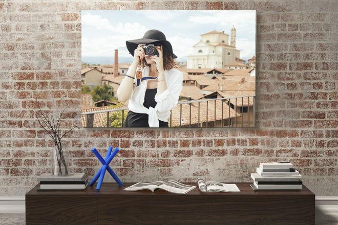 tablou canvas Summer Portrait LPL 002 mockup 1