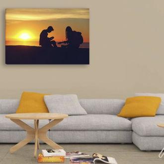 tablou canvas Sunrise Song LMU 006 mockup 1