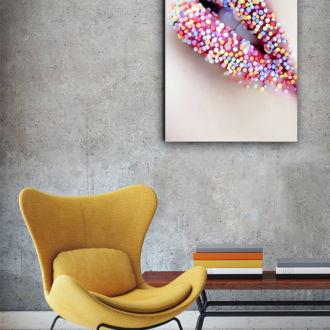 tablou canvas Sweet Lips FSW 010 mockup 1