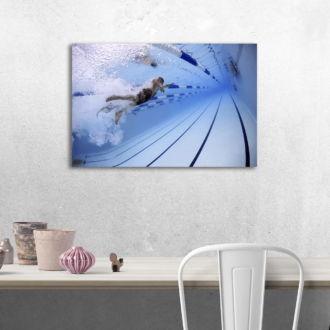 tablou canvas Swimming LPS 009 mockup 1