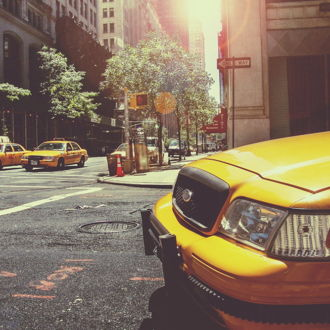 tablou canvas Taxicabs of New York City TOR 005 1